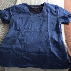 Medium ceil blue grey's anatomy scrub set